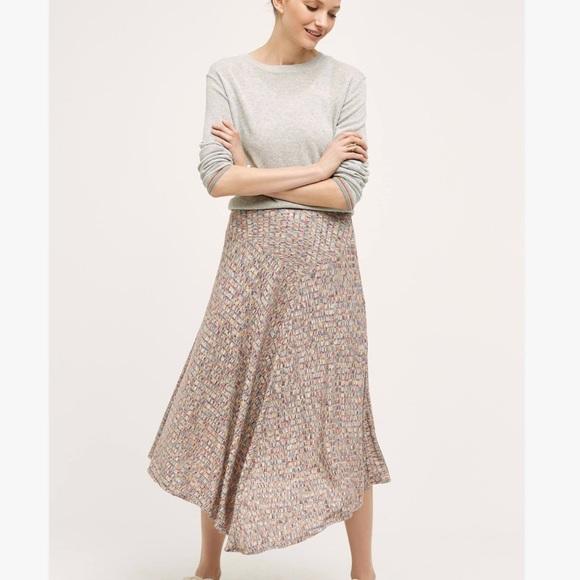 Anthropologie Dresses & Skirts - Anthropologie Vanessa Virginia asymmetrical skirt